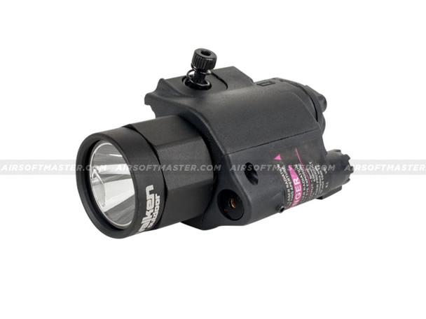 Valken LED Weapon Light w/ Laser Combo