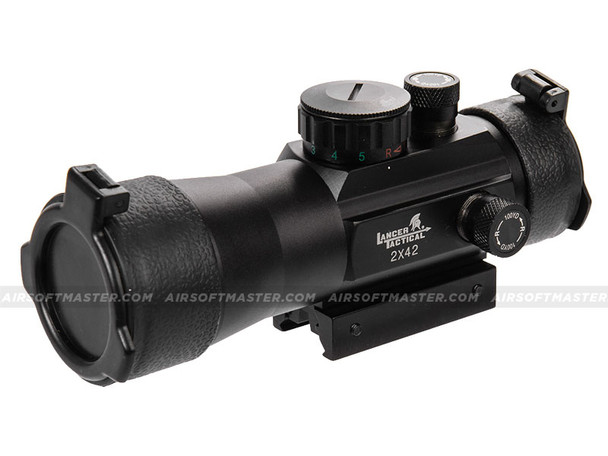Lancer Tactical CA-443B Rifle Scope 4x Maginfication