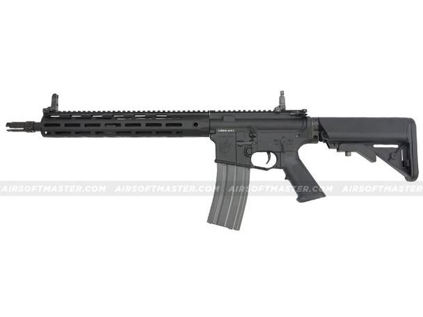 G&G Knights Armament SR15 E3 MOD2 Carbine M-Lok Rail Full Metal Black