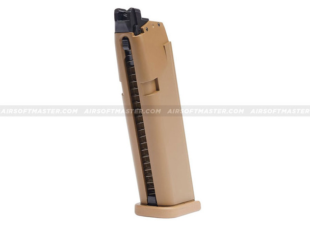 Elite Force Glock 19X Magazine Green Gas 20 Rounds Tan