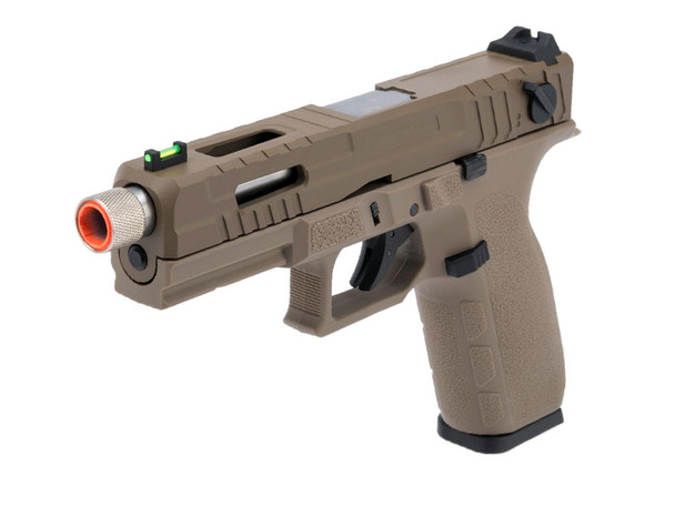 KJW KP-13 Full Auto Gas Blowback Pistol Black