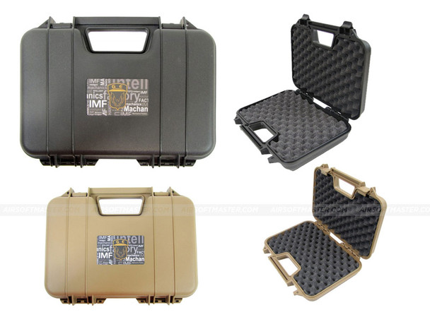 "GE 12"" Hard Pistol Case w/ Foam"