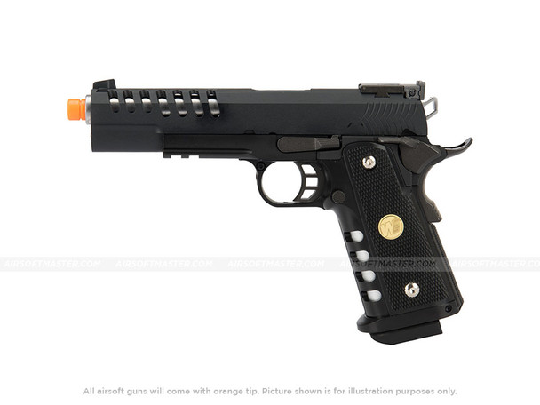 "WE Tech 1911 5.1 Hi-Capa Hyper Speed ""Skeletor"" Gas Blowback Pistol"