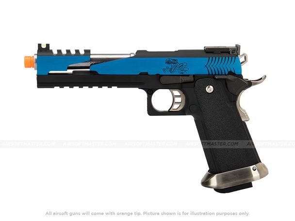 WE Tech 1911 Hi-Capa T-Rex Competition Gas Blowback Pistol w/ Top Vent