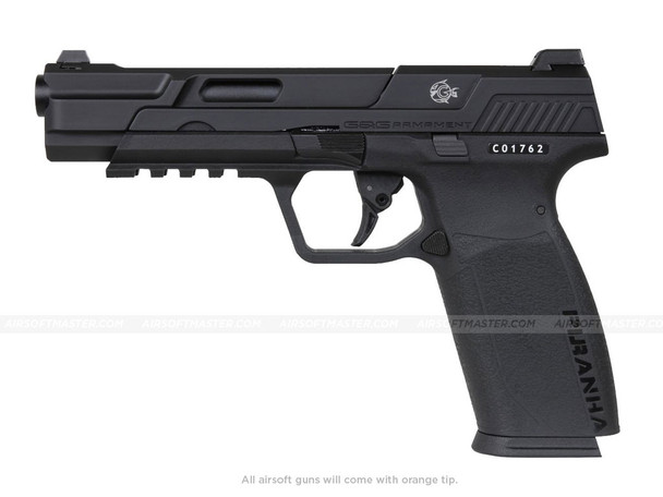 G&G Piranha MK1 Gas Blowback Pistol Black