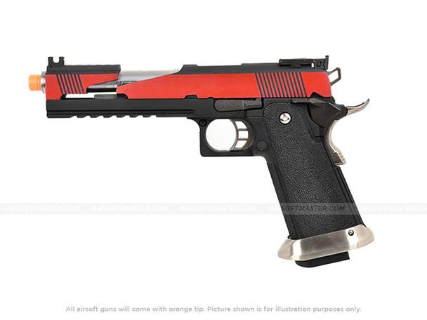 WE Tech 1911 Hi-Capa T-Rex Competition Gas Blowback Pistol w/ Top Ports