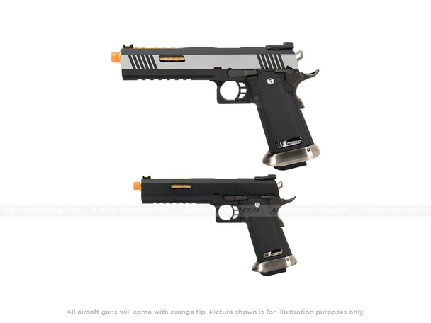 WE Tech 1911 Hi-Capa T-Rex Competition 2Tone and Black
