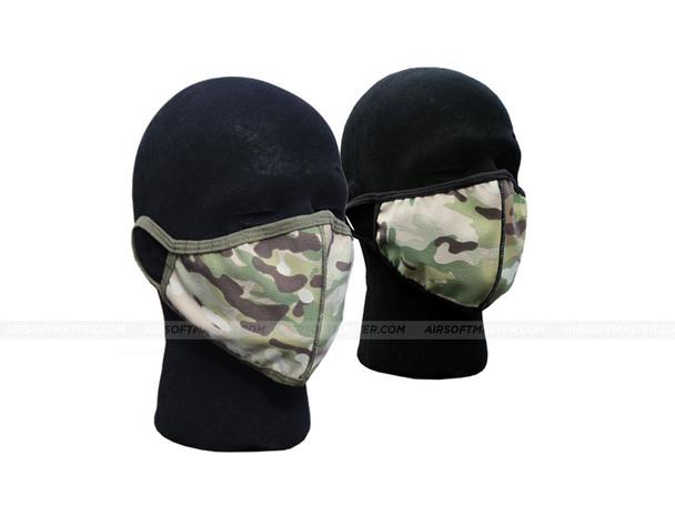 Washable Fabric Face Mask - Multicam