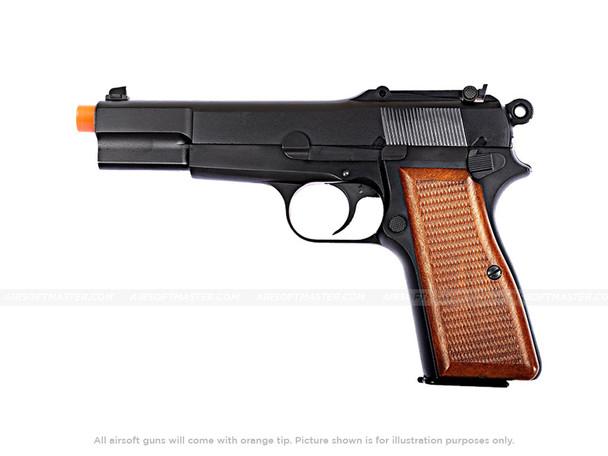 WE Tech Browning Hi-Power Blowback Pistol
