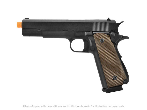 WE Tech 1911 High Capacity Full Metal Gas Blowback Pistol