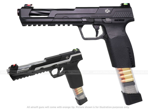 G&G Piranha SL Gas Blowback Airsoft Pistol