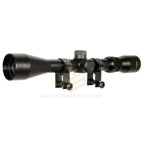 Airsoft Sniper Scope 3-9x40 w/ Mount