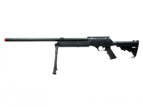 ECHO1 ASR Bolt Action Sniper Rifle Full Metal  Airsoft Gun (Black)