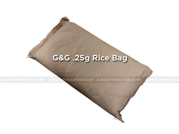 G&G .25g Precision BB 6mm Rice Bag