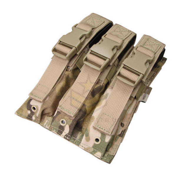 Condor Triple MP5 Mag Pouch MultiCam