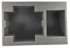 (Space Marine) 1 Land Raider 1 Rhino Foam Tray (BFS-4)