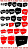 (30K) 10 Custodes Jetbikes with Bases Foam Tray (BFL-3.5)