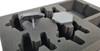 (Aeronautica Imperialis) Marauder Destroyer or Bomber Foam Tray with Flight Stems Glued to Base (BFS-1.5)