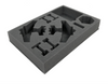 (Aeronautica Imperialis) Grot Bommers Foam Tray with Unassembled Flight Stands Foam Tray (BFS-1.5)