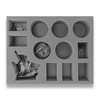 Age of Sigmar Lumineth Realm-Lords 5 Starshard Ballista 1 Lyrior Uthralle Foam Tray (BFL-2.5)