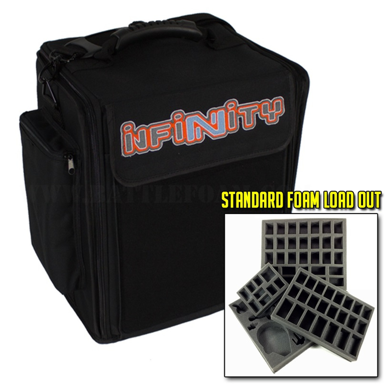 Infinity Alpha Bag 2 0 Horizontal Standard Load Out Battle Foam Whether going for a road show or overseas for a tournament, their bags meet all faa regulations for hand carry. infinity alpha bag 2 0 horizontal standard load out