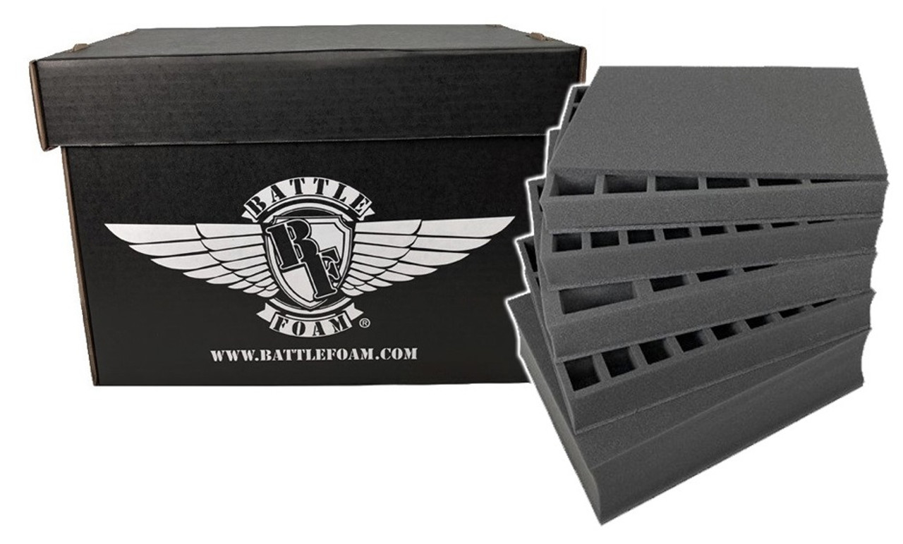 Battle Foam Large Stacker Box Standard Load Out Black Battle Foam Also, be sure to like/share this post to win a tray for yourself! battle foam large stacker box standard load out black