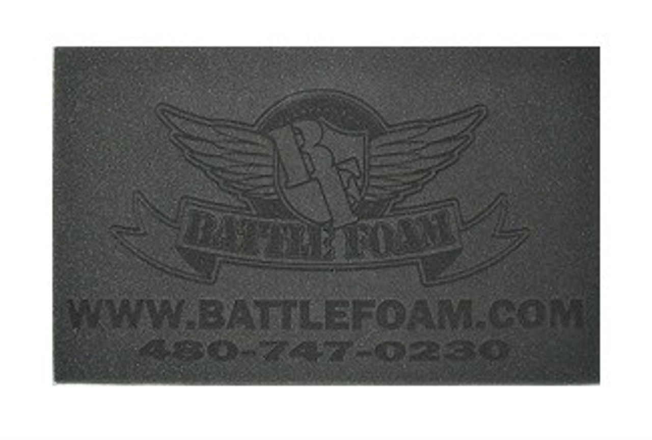Topper Custom Topper With Text And Or Logo Battle Foam Battle foam is the miniature gaming industry's leading custom bag and foam manufacturer. battle foam