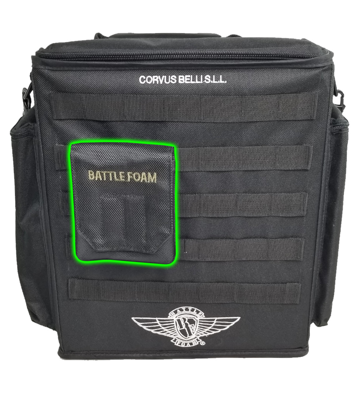 Infinity Alpha Bag 3 0 Magna Rack Original Load Out Battle Foam Tokens in the command board can be either standing or flat for storage. battle foam