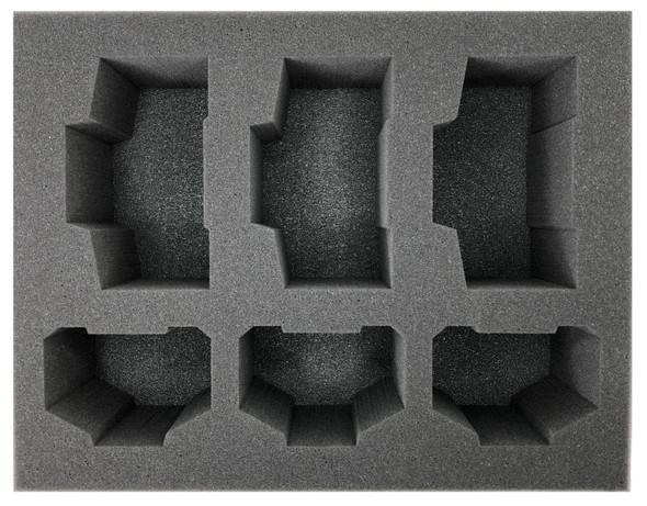 (Ork) 3 Deff Dread 3 Killa Kanz Foam Tray (BFL-4)