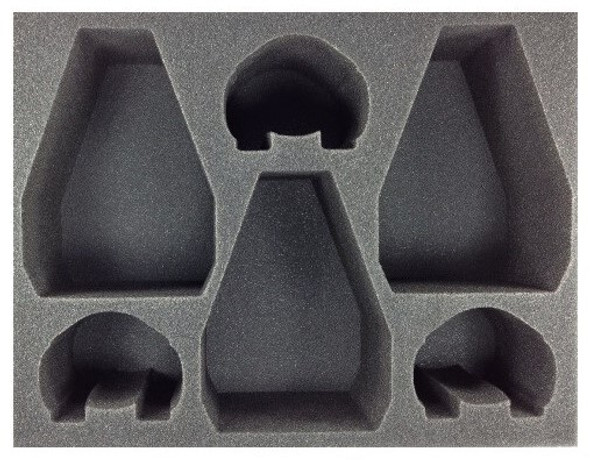 (30K) Old 3 Dreadnought Drop Pod 3 Contemptor Dreadnought Foam Tray (BFL-5.5)