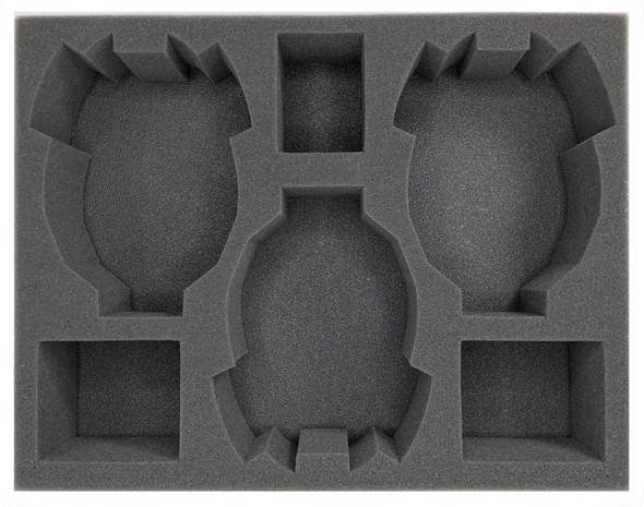 (Eldar) 3 Eldar Tank Foam Tray (BFL-3)