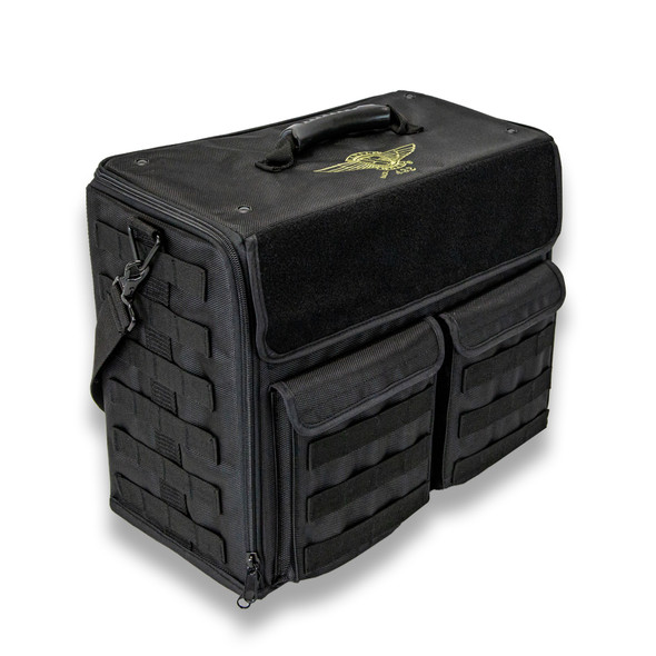 (432) P.A.C.K. 432 Molle Horizontal Custom Load Out (Black)