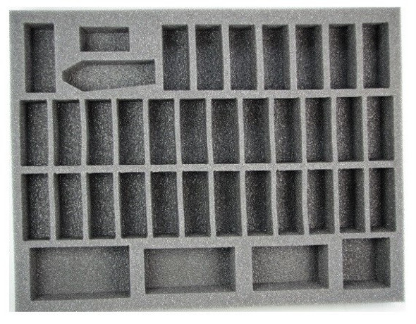 (High Elves) 35 Sword Master 2 Mage Foam Tray (BFL-1.5)