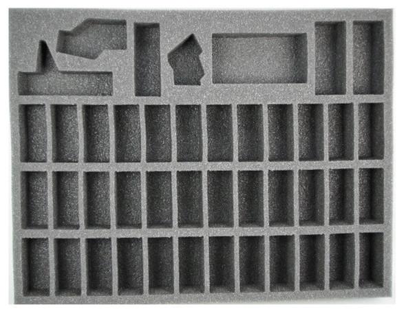 (High Elves) 39 White Lion Foam Tray (BFL-1.5)