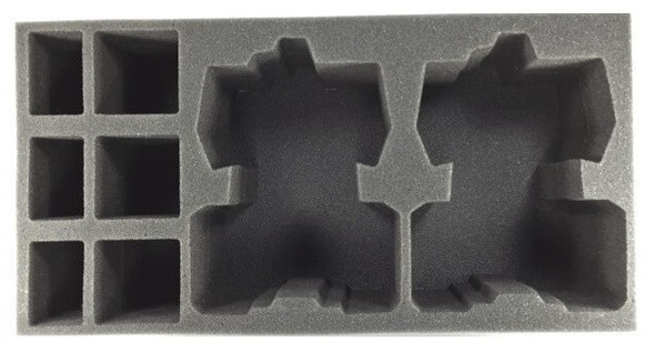 (Tau) 2 Devilfish 3 Crisis Suit 3 Stealth Suit Foam Tray (BFM-4)
