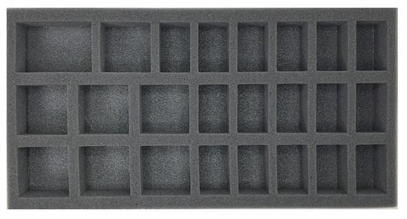(Gen) 32mm 16 Medium 8 Large Troop Foam Tray (BFM-1.5)