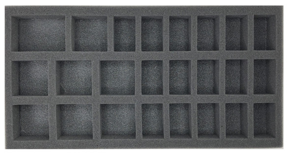 (Gen) 32mm 16 Medium 8 Large Troop Foam Tray (BFM-1.5)