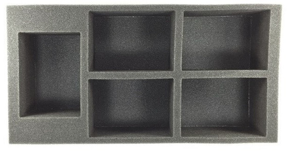 (Space Marine) 5 Rhino Foam Tray (BFM-3)
