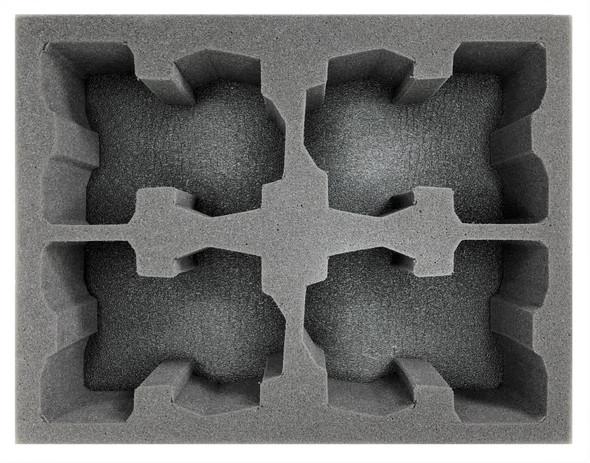 (Tau) 4 Devilfish Foam Tray (BFL)