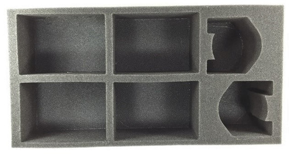 (Space Marine) 4 Rhino 2 Dreadnought Foam Tray (BFM-3)