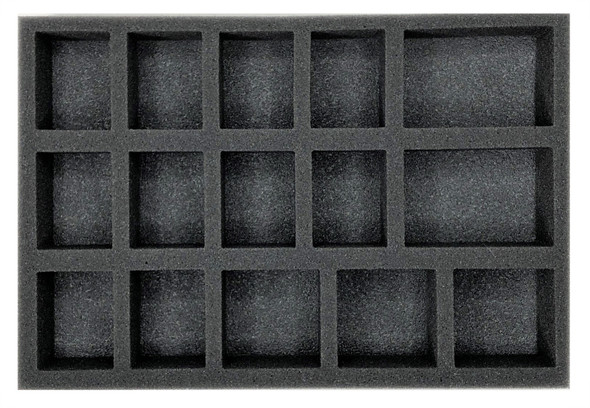 (Gen) 32mm 10 Medium 5 Large Troop Foam Tray (BFS-1.5)