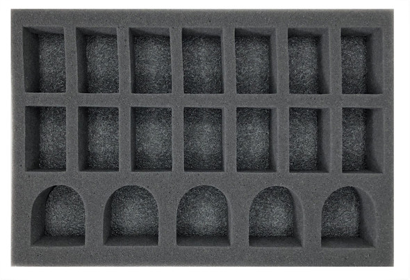 (Space Marine) 5 Terminator 14 Troop Foam Tray (BFS)
