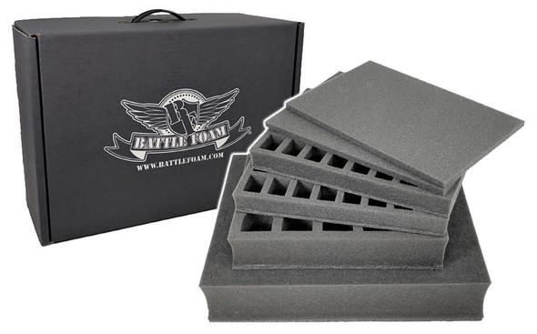 Battle Foam Eco Box Half Tray Load Out (Black)