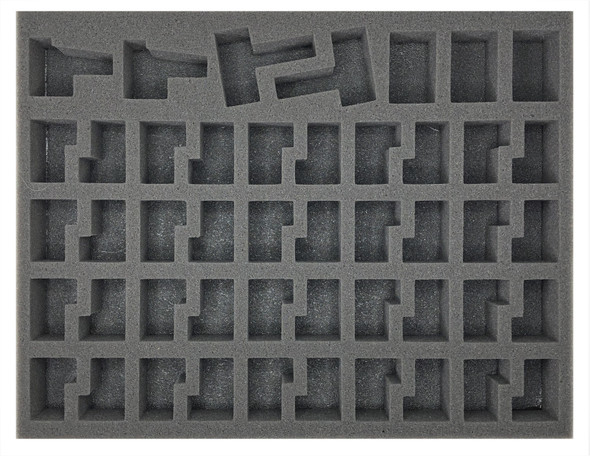 (Dark Eldar) 40 NEW Dark Eldar Warrior Foam Tray (BFL)