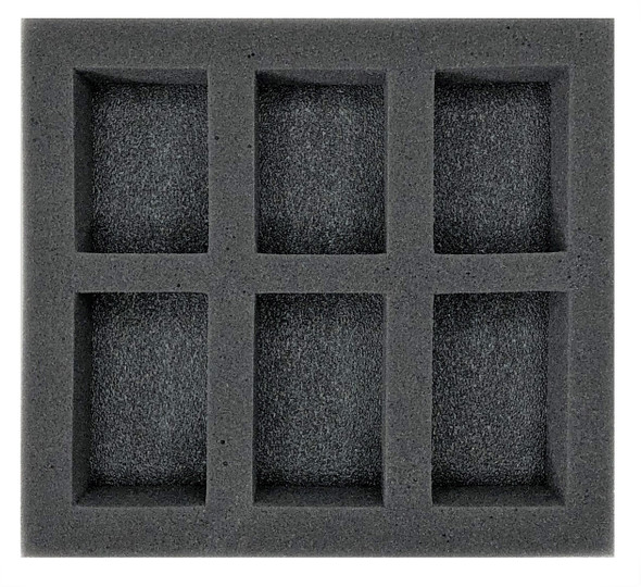 (W/H) Oversized Medium Troop Half Foam Tray (PP.5-2)