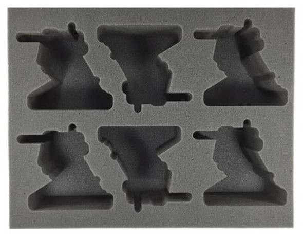 (Adeptus Mechanicus) 6 Ironstrider Foam Tray (BFL-3)