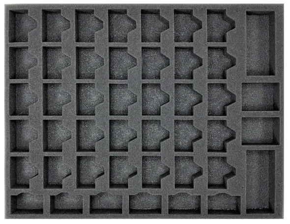 (Gen) 45 Model with Long Weapons Troop Foam Tray (BFL-1)