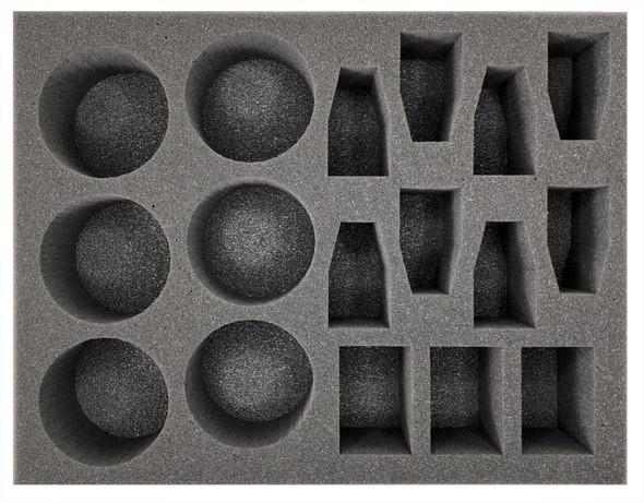 (Ork) 6 Deffkopta 8 Warbike Foam Tray (BFL-3)