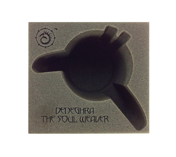 (Cryx) Deneghra, The Soul Weaver Battle Engine Foam Tray (PP.5-8.5)