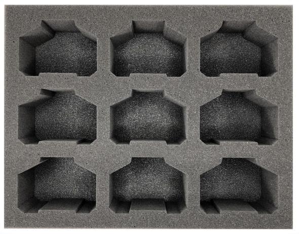 (Ork) 9 Killa Kanz Foam Tray (BFL-3)